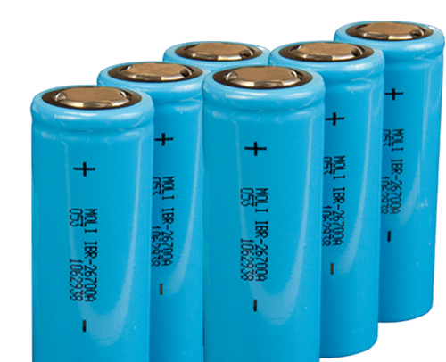 blue cell 18650 battery