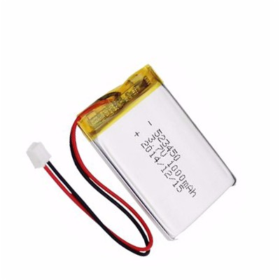 3.7V 1000 mAh lipo battery cell