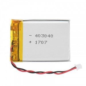 3.7V 500mah lipo battery cell