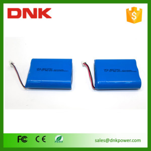 3.7 v lipo battery pack 2000mah