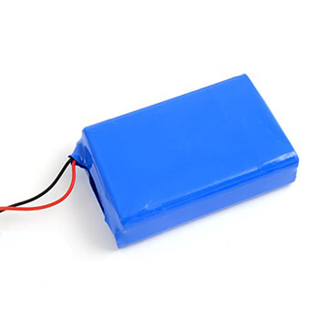 12V 3000mAh lipo battery pack