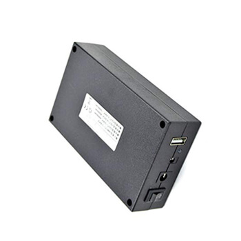 12V 3000mah plastic enclosure battery