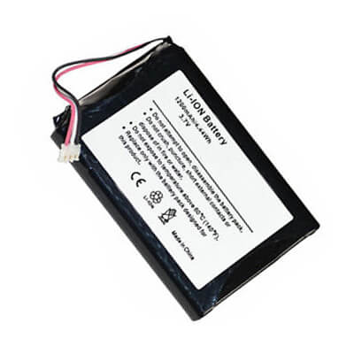 3.7V 1200mAh gps battery pack