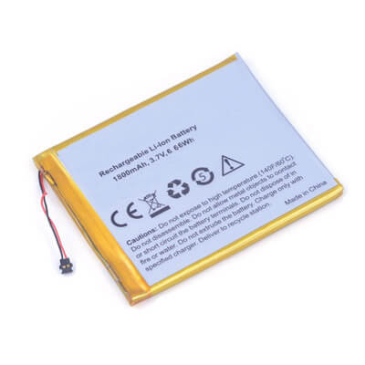 3.7V 1800mAh Rechargeable Li-Polymer Battery For GPS