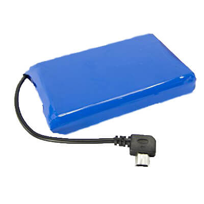 3.7V 4000mAh battery pack